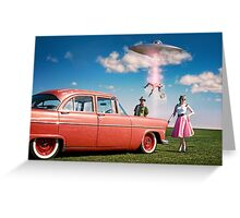 Intergalactic Roadtrip Greeting Card
