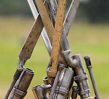 Bayonets' Huddle by Tim Devine