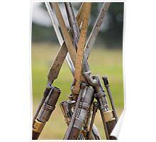 Bayonets' Huddle Poster