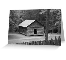 Little Greenbrier School II Greeting Card