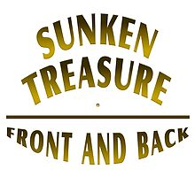 Sunken Treasure Front And Back by Vy Solomatenko