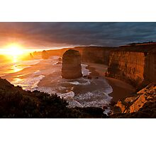 Iconic Apostles Photographic Print