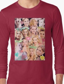 Heather Morris Collage Long Sleeve T-Shirt