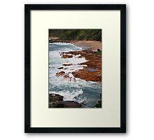 Point Arkwright, Sunshine Coast Framed Print