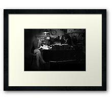 Mike & Velda Framed Print