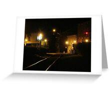 7th Street Railway Greeting Card