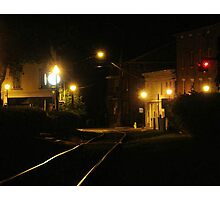 7th Street Railway Photographic Print