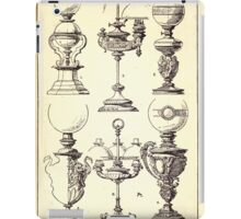 A Handbook Of Ornament With Three Hundred Plates Franz Sales Meyer 1896 0393 Metal Objects Modern Lamp iPad Case/Skin