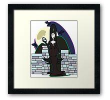 Vamp queen Framed Print
