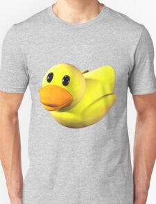 Yellow Rubber Duckie Unisex T-Shirt