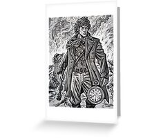 """Young War Doctor/ """"Doctor No More"""" Greeting Card"""
