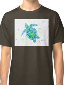 Sea Turtle by Jan Marvin Classic T-Shirt