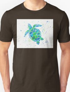 Sea Turtle by Jan Marvin Unisex T-Shirt