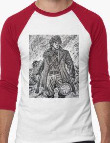 "Young War Doctor/ ""Doctor No More"" Men's Baseball ¾ T-Shirt"