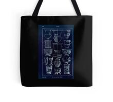 A Handbook Of Ornament With Three Hundred Plates Franz Sales Meyer 1896 0360 Vases Cup Beaker Inverted Tote Bag