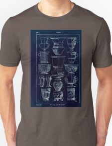 A Handbook Of Ornament With Three Hundred Plates Franz Sales Meyer 1896 0360 Vases Cup Beaker Inverted T-Shirt