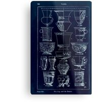 A Handbook Of Ornament With Three Hundred Plates Franz Sales Meyer 1896 0360 Vases Cup Beaker Inverted Metal Print