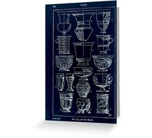 A Handbook Of Ornament With Three Hundred Plates Franz Sales Meyer 1896 0360 Vases Cup Beaker Inverted Greeting Card