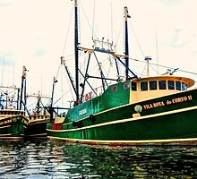 Vila Nova do Corvo II - Portuguese fishing boat by Poete100