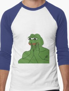 Pepe The Frog Men's Baseball ¾ T-Shirt