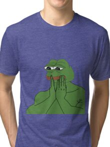 Pepe The Frog Tri-blend T-Shirt