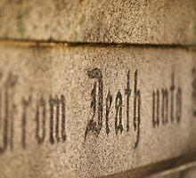 Death Unto Life by Mark de Jong