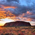 Ayers Rock (Uluru) Sunrise, Australia by Michael Boniwell