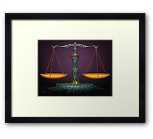 Scales - Libra  Framed Print
