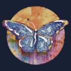 Blue Butterfly by evisionarts