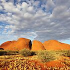 The Olgas (Kata Tjuta), Sunset, Australia by Michael Boniwell