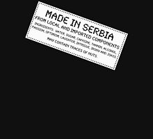 Traces of Nuts - Serbia Unisex T-Shirt