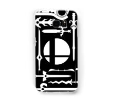 Smash Swords White Samsung Galaxy Case/Skin
