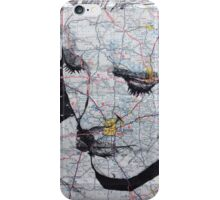Chastain Map iPhone Case/Skin