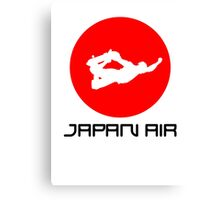 Japan Air Canvas Print
