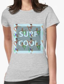 SURF COOL Womens Fitted T-Shirt