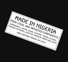 Traces of Nuts - Nigeria by Ron Marton