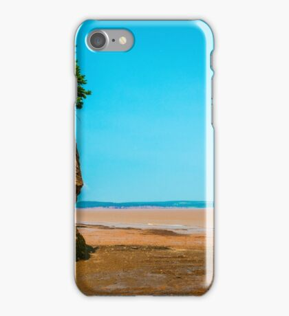 Hopewell Rocks, New Brunswick Canada iPhone Case/Skin