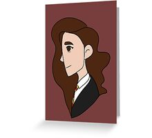 Hermione Greeting Card