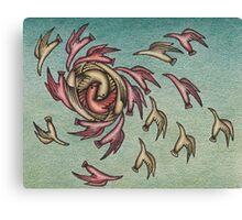 Flock Formation Canvas Print