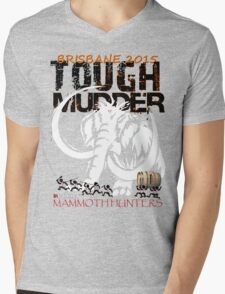 TOUGH MUDDER T-SHIRT 2015 BRISBANE Mens V-Neck T-Shirt
