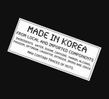 Traces of Nuts - Korea by Ron Marton