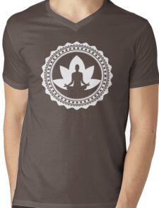 Sacred Meditation  Mens V-Neck T-Shirt