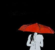 Red Umbrella by Rebecca Staffin