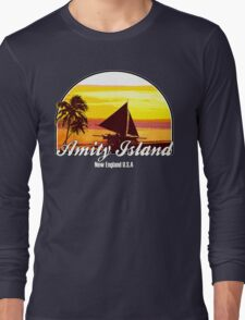 Amity Island Long Sleeve T-Shirt