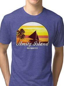 Amity Island Tri-blend T-Shirt