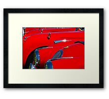 Will the owner of the red Jag...... Framed Print