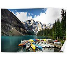Moraine Lake, Banff NP Poster
