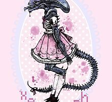 Cutest Xenomorph by mindfulmerry