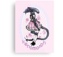 Cutest Xenomorph Metal Print
