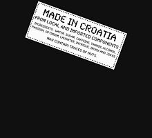 Traces of Nuts - Croatia Womens Fitted T-Shirt